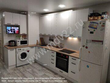 Угловые кухни - 115 лучших фото идей оформления интерьера угловой ...   270x360
