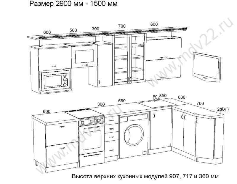 Дизайн интерьера кухни в квартирах домов 137 серии в СПб с
