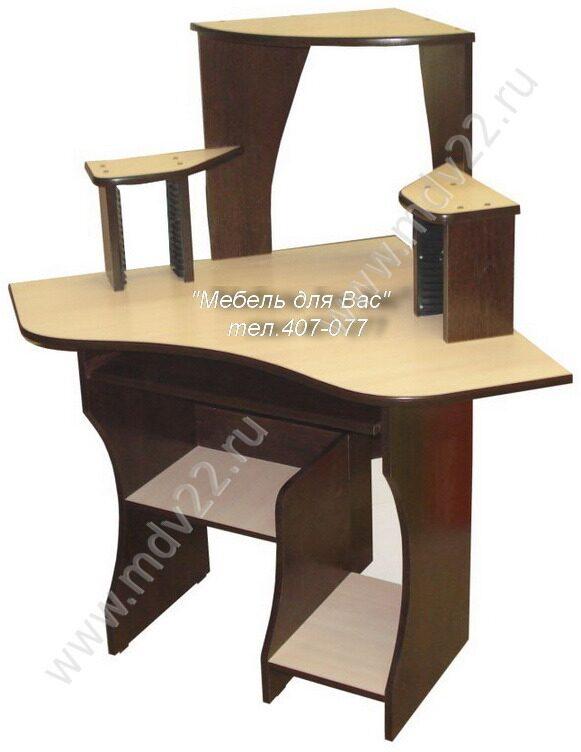 Угловые столы компьютерные своими руками