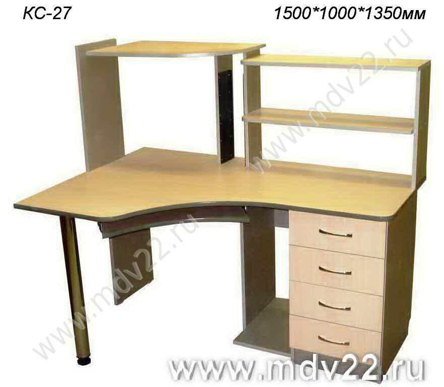 Компьютерный стол угловой кс 27 размер