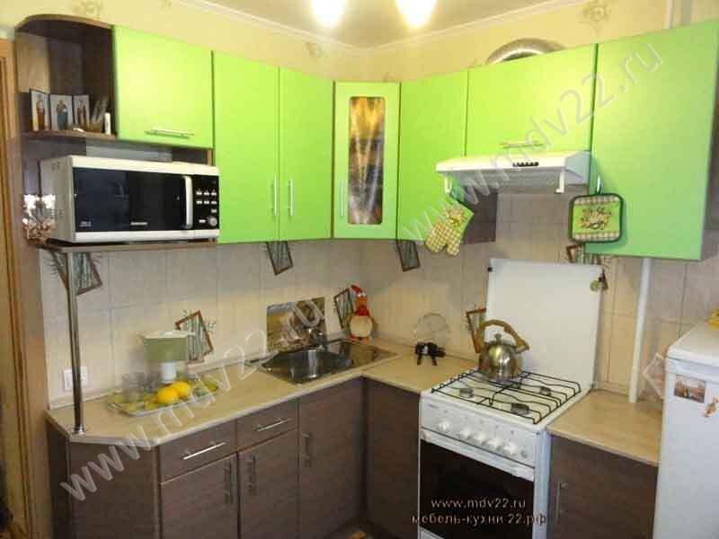 Модульная кухня угловая в хрущевке комбинированная Кухни свободной комплектации, модульные кухни,фото кухни, кухни на