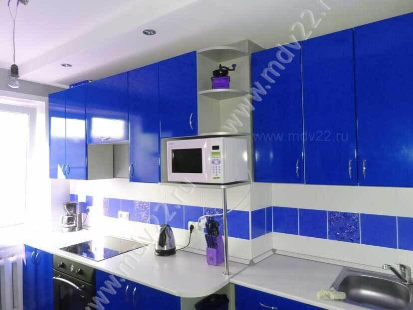 Кухня прямая в квартире 464 серии кухни