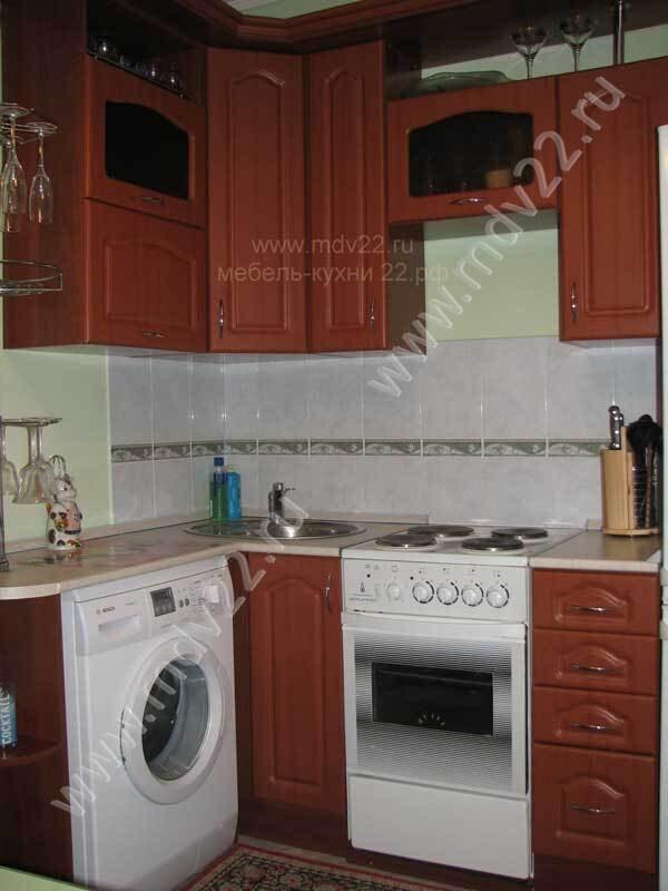 Гарнитур для маленькой кухни кухни
