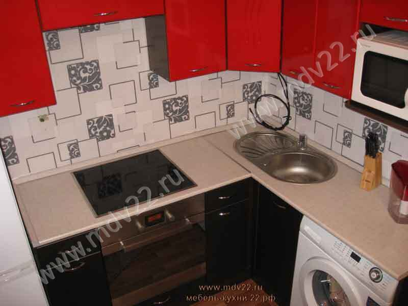 кухни со стиральной машиной