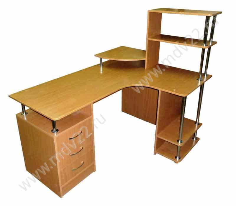 Угловой офисный стол