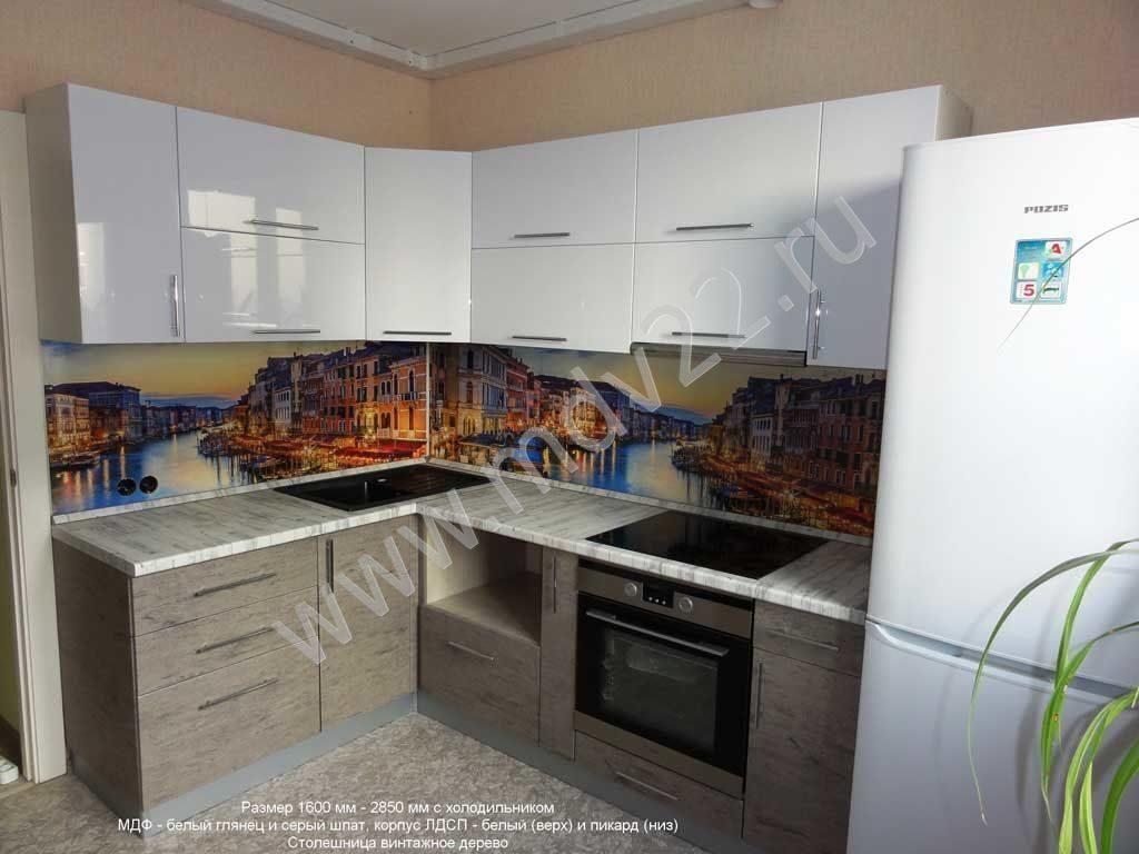 смотреть кухни угловые фото