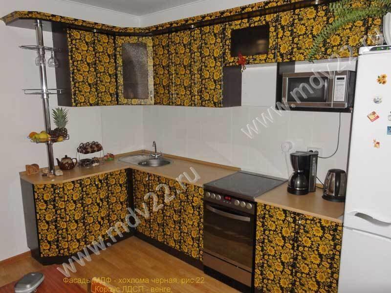 мебель кухня хай тек угловая