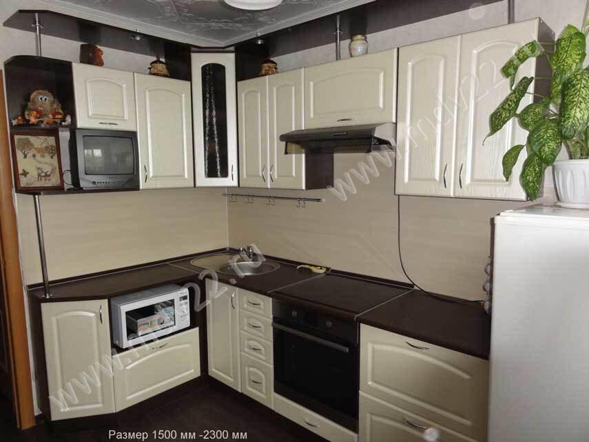 Кухня в 3 х комн квартире 121 серии