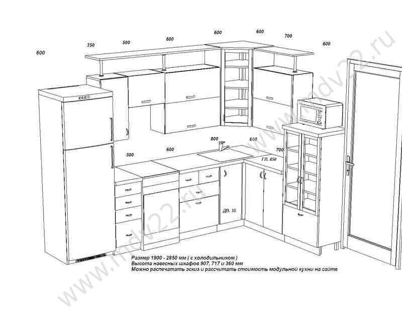мебель фото сехема