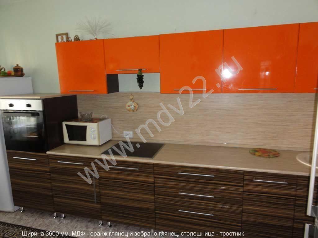 кухня оранж фото