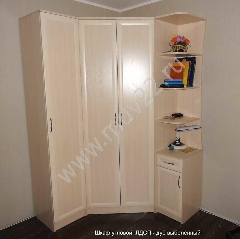 Шкафы купе распашные угловые