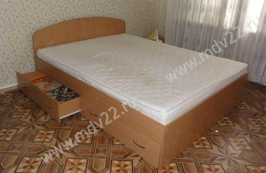 двуспальная кровать с ящиками спинка мод 2 кровати купить