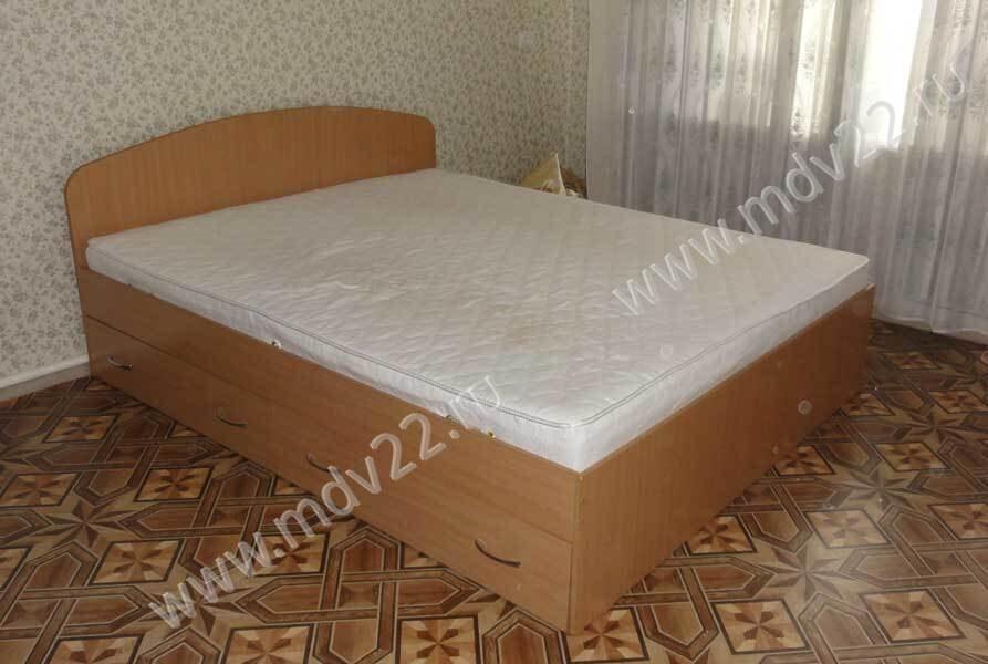 кровать двуспальная с ящиками спальное место 1600мм 1900 мм